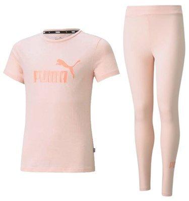 ZESTAW T-shirt + legginsy PUMA bawełna