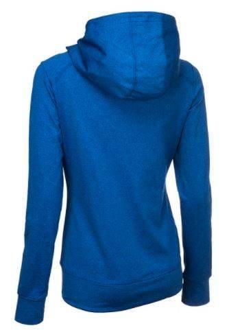 Bluza damska OUTHORN BLD601 niebieska z kapturem