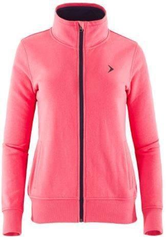 Bluza damska Outhorn BLD610 na zamek różowa