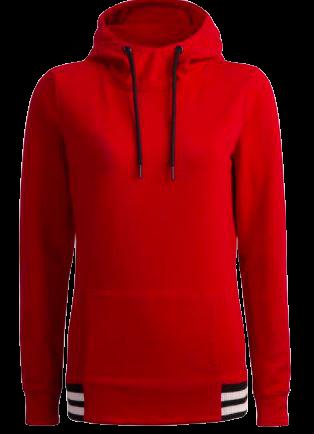Bluza damska z kapturem OUTHORN BLD602 czerwona