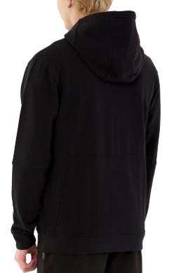 Bluza męska OUTHORN BLM610D czarna z kapturem