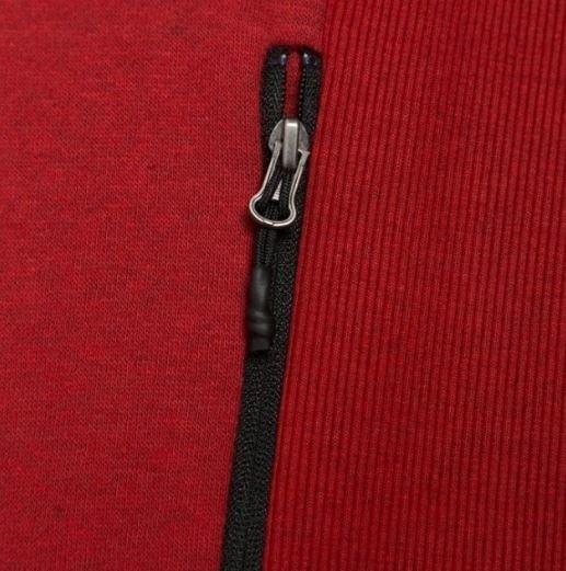 Bluza męska na zamek Outhorn BLM605 czerwona