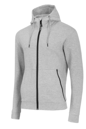Bluza męska z kapturem OUTHORN BLM610 szara