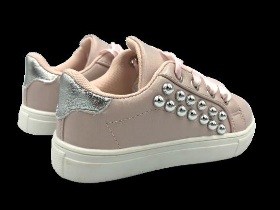 Buty dziewczęce trampki różowe