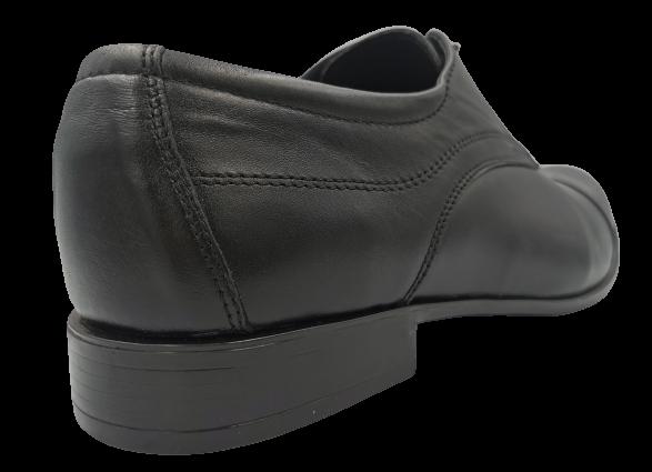 Buty eleganckie skórzane 0-110 czarne