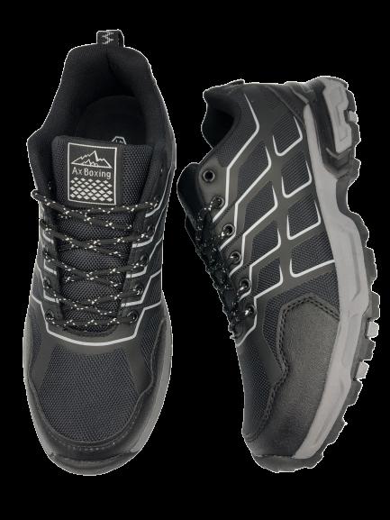 Buty męskie sportowe adidasy czarne A0049-1