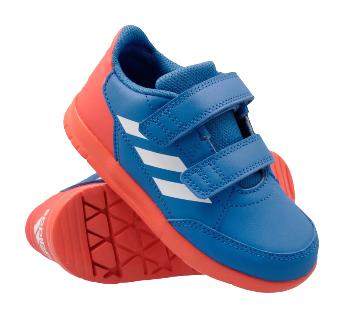 Buty sportowe dziecięce ADIDAS D96842 niebieskie