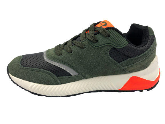 Buty sportowe młodzieżowe B0057-5 zielone