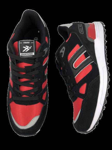 Buty sportowe młodzieżowe B08333-21 czarne