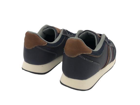 Buty sportowe młodzieżowe adidasy B9015 granat