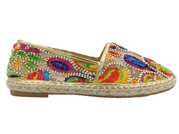 Espadryle damskie buty obuwie letnie balerinki 40
