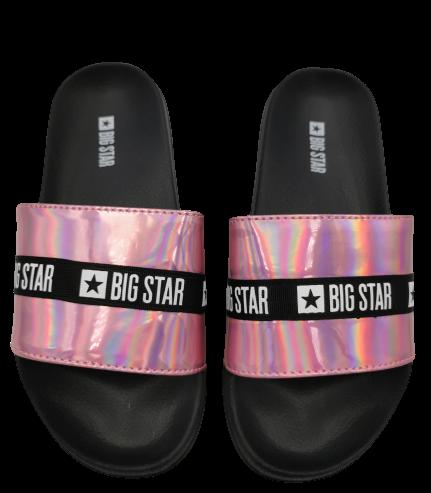 Klapki damskie BIG STAR różowe GG274A008