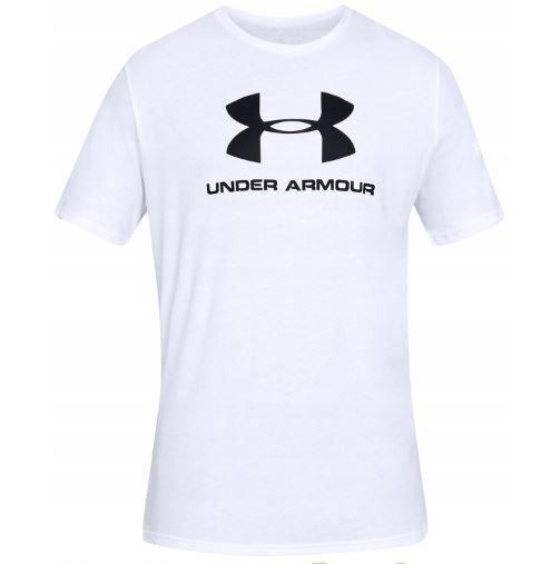 Koszulka dziecięca UNDER AMOUR BIAŁA