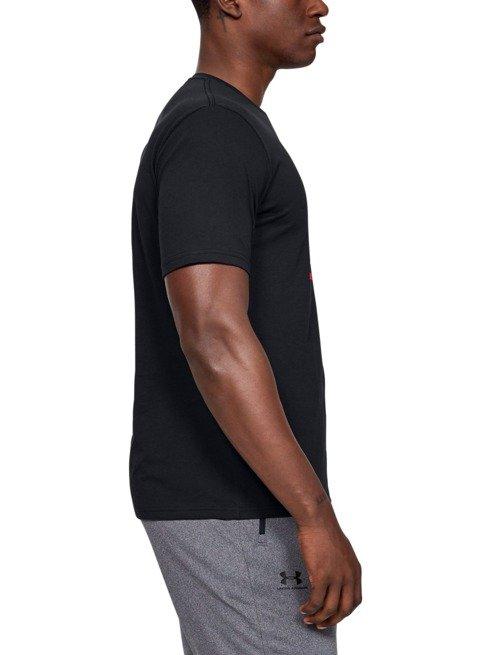 Koszulka z krótkim rękawem UNDER ARMOUR CZARNA