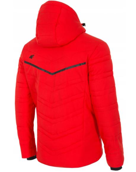 Kurtka męska narciarska 4F KUMN011 czerwona