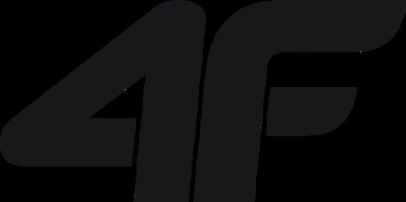Kurtka męska puchowa pikowana 4F czarna 3XL