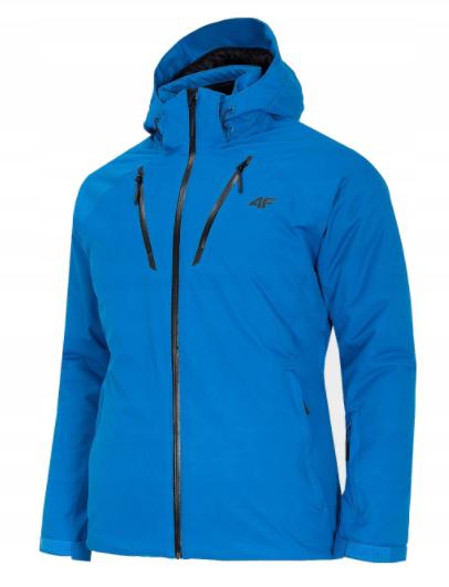 Kurtka narciarska męska 4F KUMN005 niebieska