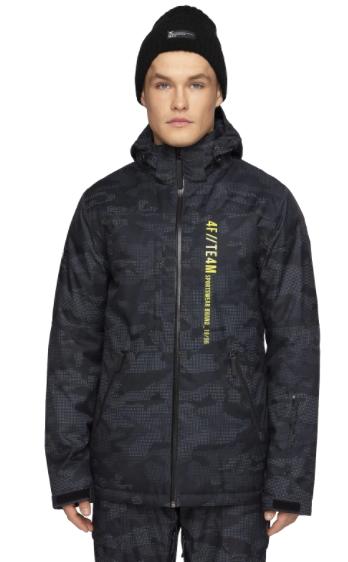 Kurtka narciarska męska zimowa 4F czarna
