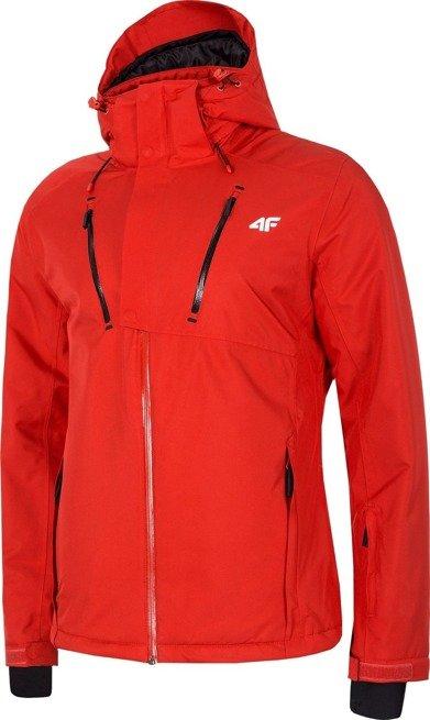 Kurtka narciarska męska zimowa 4F czerwona