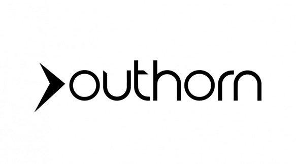 Longsleeve męski OUTHORN TSML601 bordowy