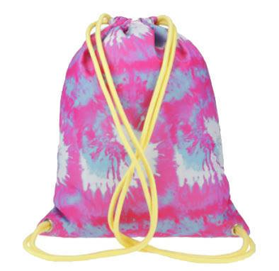 Plecak worek 4F dziewczęcy JBAGD003 multicolor