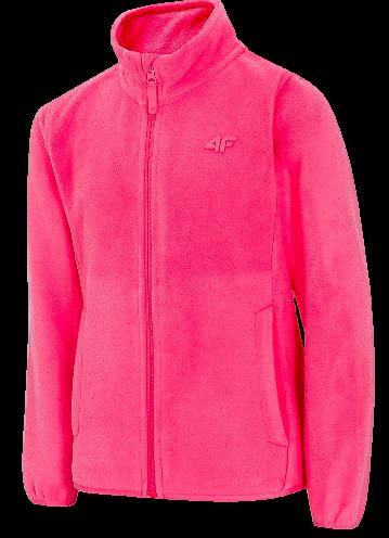 Polar dziewczęcy 4F JPLD001 bluza różowa