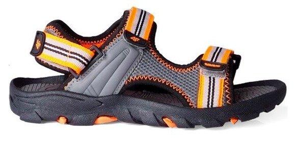 Sandały chłopięce 4F JSAM003 multikolor