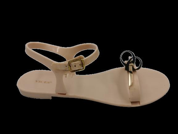 Sandały damskie beżowe wygodne PT80-14 36