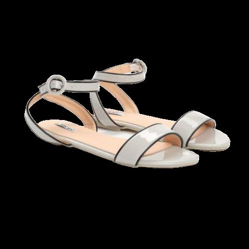 Sandały damskie obuwie szare 9025-5