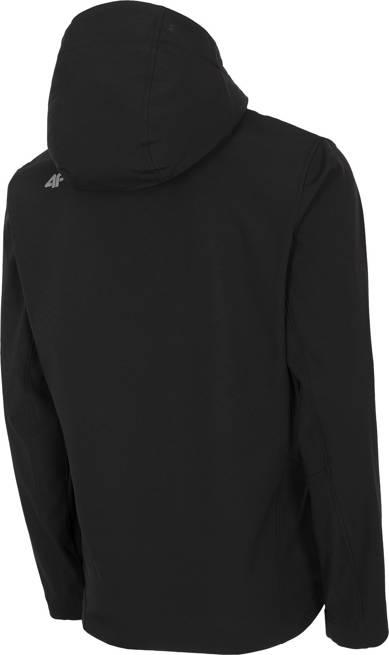 Softshell męski 4F SFM003 kurtka czarna