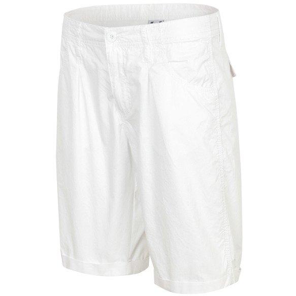 Spodenki sportowe damskie 4F SKDT003 białe