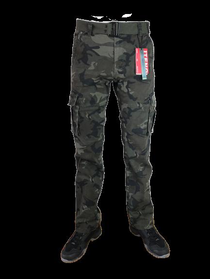 Spodnie bojówki moro M1662 9