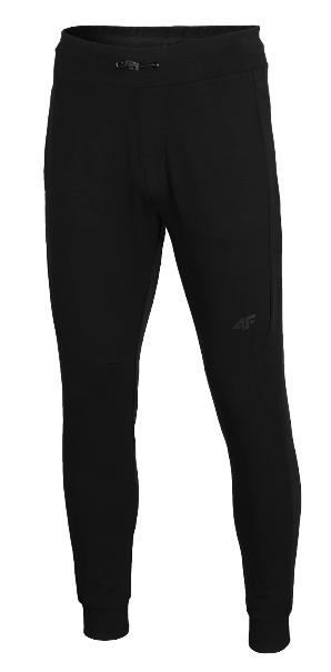 Spodnie męskie 4F SPMD011 dresowe czarne