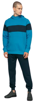Spodnie męskie dresowe OUTHORN SPMD600 granat