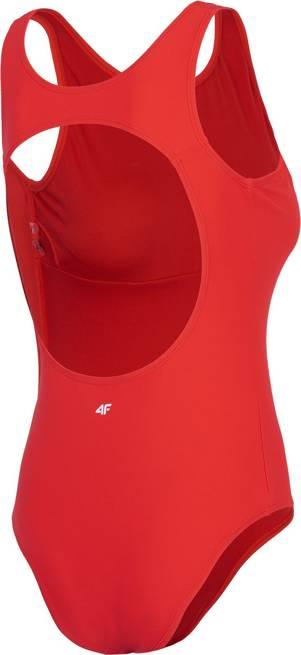 Strój kąpielowy 4F damski KOSP001 czerwony