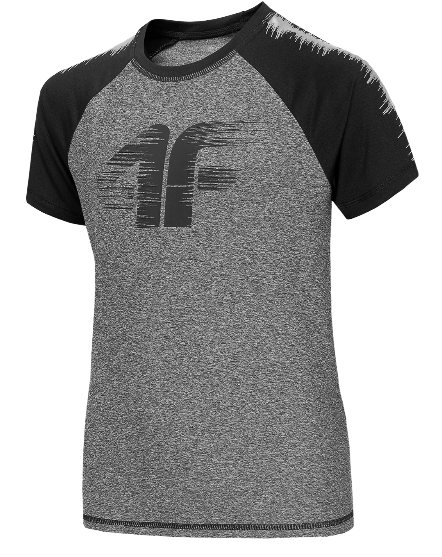T-shirt 4F koszulka sportowa JTSM011 szara