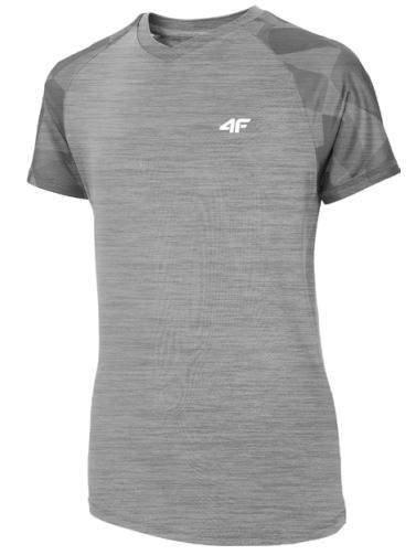 T-shirt 4F koszulka sportowa JTSM014 szara