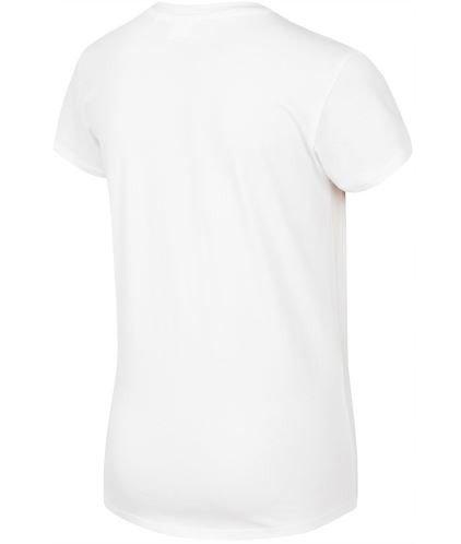 T-shirt chłopięcy 4F JTS023 BIAŁY