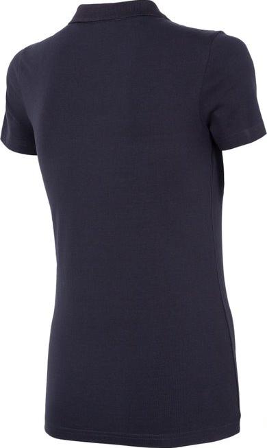 T-shirt damski 4F TSD008 koszulka polo granatowa