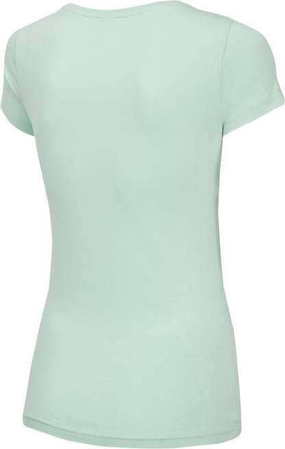 T-shirt damski 4F TSD012 bawełniany miętowy