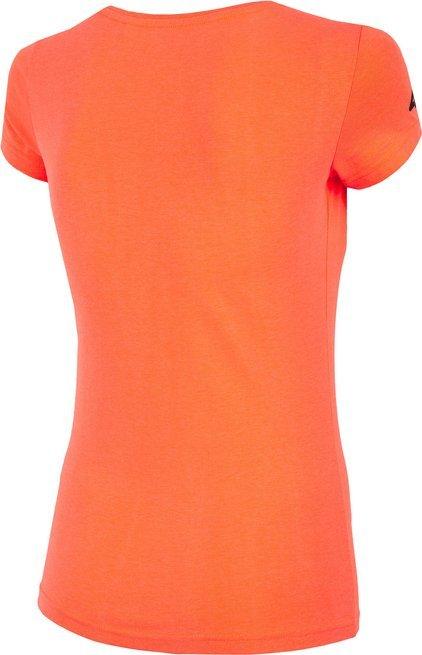 T-shirt damski 4F TSD061 koszulka pomarańczowa