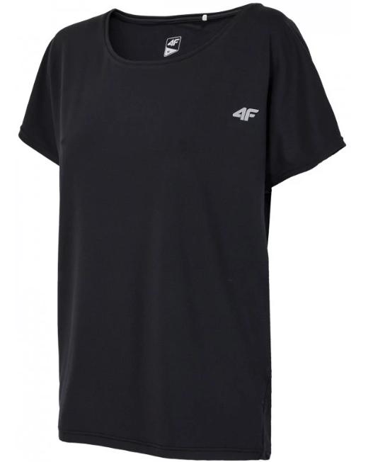 T-shirt damski 4F TSDF004 fitness czarny XS