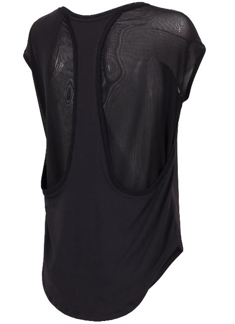 T-shirt damski 4F TSDF005 fitness czarny