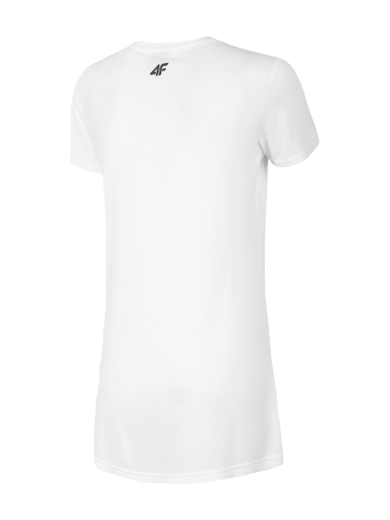 T-shirt damski 4F koszulka biała TSD005