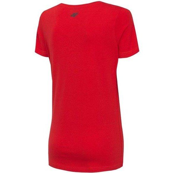 T-shirt damski 4F koszulka czerwona TSD005