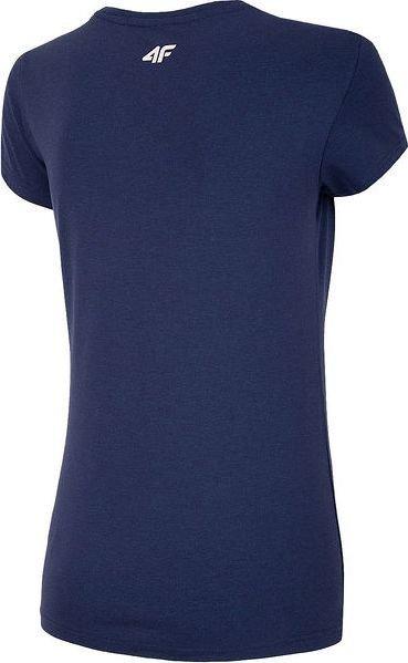 T-shirt damski 4F koszulka granatowa TSD002