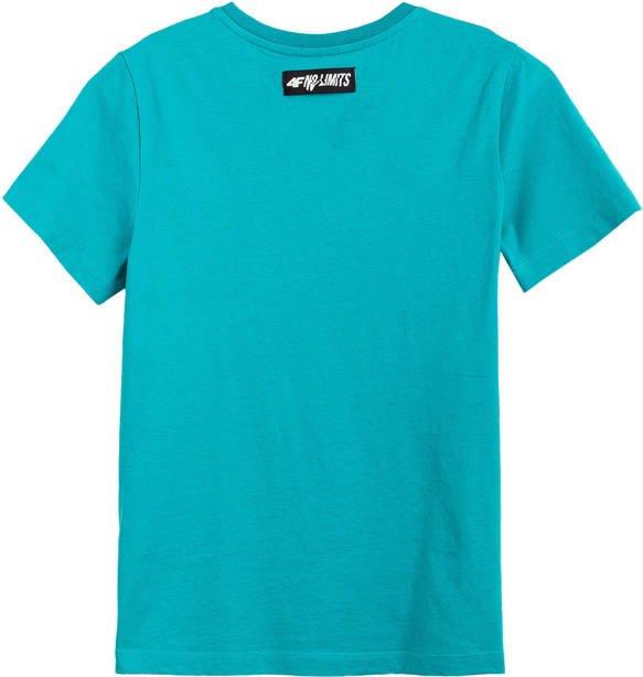 T-shirt dziecięcy 4F JTSM003B bawełniany