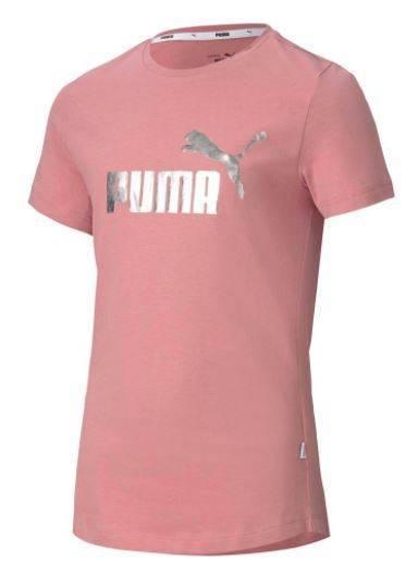 T-shirt dziewczęcy PUMA 582556 16 koszulka róż
