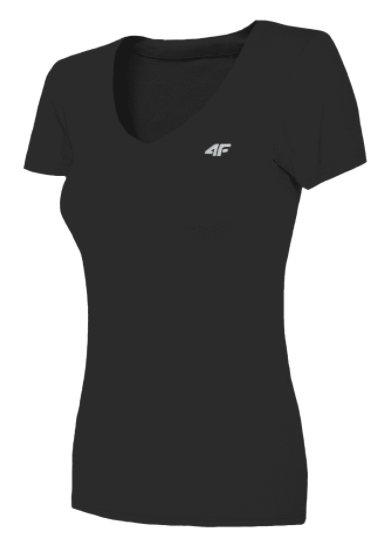 T-shirt funkcyjny damski 4F TSDF003 czarna
