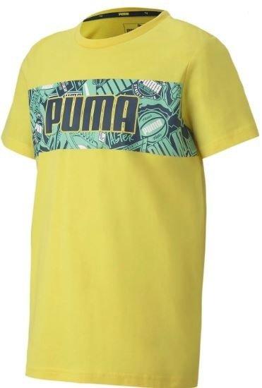 T-shirt koszulka PUMA  58126827 żółta